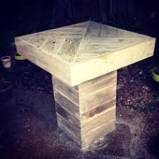 Reclaimed Wood Bistro Table Pallet Bistro Table Pallet Pinterest Pallets And Pallet Projects