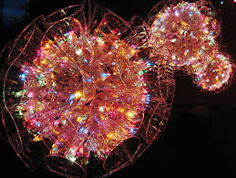 ball with light inside how to recycle eco friendly christmas lights decor ideas