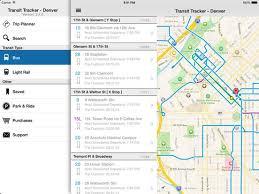 Rtd Denver Light Rail Schedule Transit Tracker Denver On The App Store