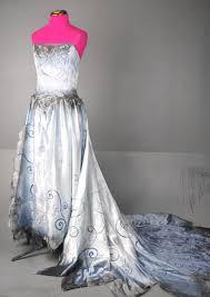 tim burton corpse bride wedding zombie dress gown costume emily