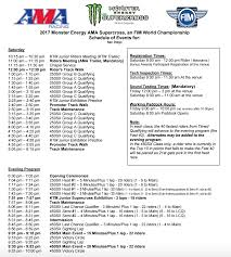 ama motocross schedule 2017 san diego sx in u0026 out transworld motocross