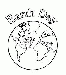 earth color number coloring kids pages printables