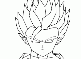 dragon ball coloring pages super saiyan 5 coloring