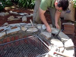 Firepit Grill How To Build A Pit And Grill How Tos Diy