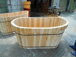 wooden bathtubs file wooden bathtub for adults 04 jpg wikimedia commons