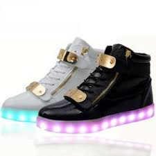 light up shoes for adults men lights up led luminous sneakers with charge shoes men high top