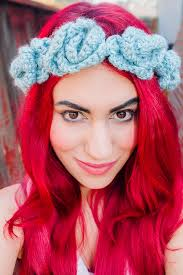 crochet flower headband 9 beautiful crochet crown patterns guide patterns