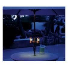 solar umbrella clip lights clip on solar patio umbrella lights garden misc pinterest
