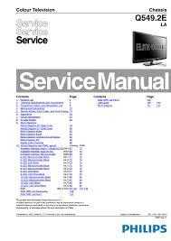 manual de serviço tvs philips 32pfl9604h 12 32pfl9604h 60
