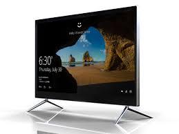 ecran tactile pc bureau 27 pouces intel j1900 4g ram 500g hhd ordinateur de bureau à écran
