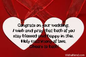 happy wedding message congrats on your wedding i wish wedding card message