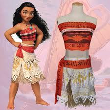 Halloween Princess Costumes Aliexpress Buy Moana Cosplay Costume Princess Costume