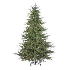 sterling 7 5 ft pre lit natural cut slim montgomery pine