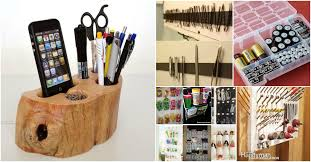 desk saver organization system 85 insanely clever organizing and storage ideas for your entire home
