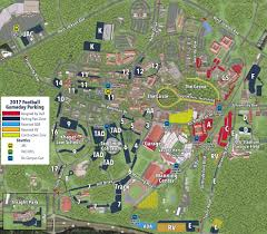 Smith College Map Parking With A Pass Ole Miss Football