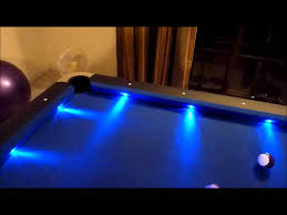 led lights in grout led pool table rental party absolute amusements orlando intended for