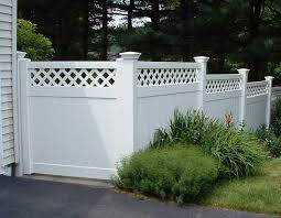 Curved Trellis Fence Panels 50 Lattice Fence Design Ideas Pictures Of Popular Types