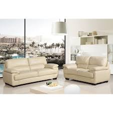 Two Piece Sofa by Cream Leather Sofas From The Chelsea Collection Simply Stylish Sofas