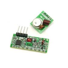 Instructables Rf 315 433 Mhz Transmitter Receiver Module And Arduino 5 Steps