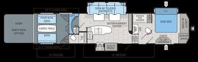 fuzion floor plans 5th wheel toy hauler floor plans elegant cyclone toy hauler by