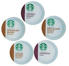 15 count variety pack of starbucks k cups for keurig brewers