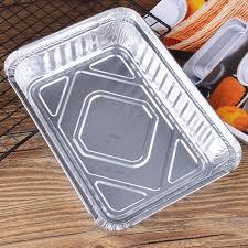 lot 40 set aluminum foil trays bbq disposable food container