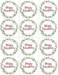 christmas present labels templates eliolera com