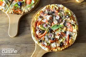 cuisine pizza pizza บ ก 5 ร านพ ซซ าโฮมเมด ช สเย ม หน าแน น gourmet