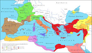 Roman Map Roman Army Of The Mid Republic Map