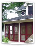 traditional 3 season porch panels screen sash storm sash