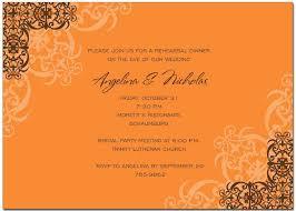 autumn invitations autumn invitations for special events