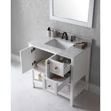 36 inch white bathroom vanity bathroom elegant bathroom small storage design with great virtu