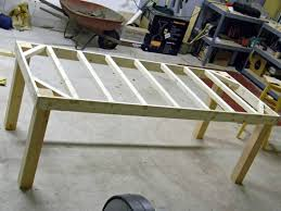 How To Build A Concrete Ping Pong Table U2014 T by Diy Farmhouse Dining Table Plans Ana White Moores Dimen Momchuri