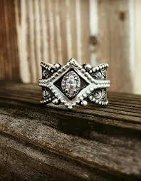 silver diamonds rings images Handmade crystal jewelry sterling silver diamond rings silver jpg