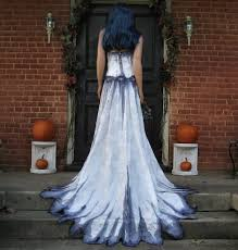 Wedding Dress Halloween Costume Gothic Corpse Bride Wedding Gown Thebohemiangoddess Etsy