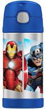 Avengers Rug Funtainer Marvel Avengers Bottle Blue 12 Ounces
