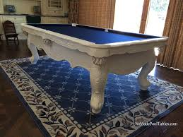 white pool tables table custom modern idolza