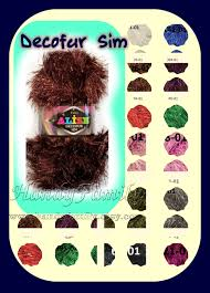 alize decofur sim yarn long eyelash yarn faux fur yarn fun fur