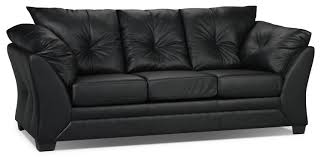 The Brick Leather Sofa What Should I Clean My Leather With And Sofa Set