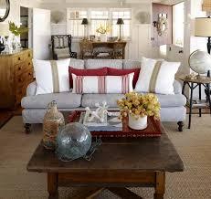 Coastal Cottage Living Rooms by Inspiration On The Horizon Coastal Cottage Interiors