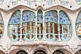 cuisine compl鑼e castorama casa batllo barcelona spain wall mural pixers we live to