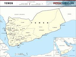 where is yemen on the map 2015 yemen crisis situation reports critical threats
