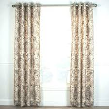 Corner Window Curtain Rod Curtain Tie Backs Diy 2 Piece Sheer Window Grommet Panels U2013 Muarju