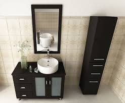Vessel Sink Bathroom Vanity by Avola 39 Inch Vessel Sink Bathroom Vanity Espresso Finish