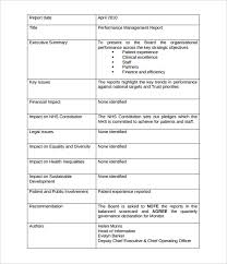 management report templates u2013 18 free word pdf documents