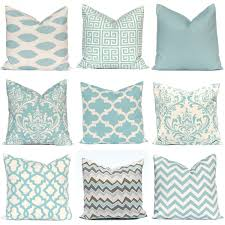 Cushion Covers For Sofa Pillows by Blue Pillow Covers One Throw Pillow Cover Decorative