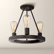 Edison Ceiling Light Lacey 13