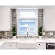 hand painted tile backsplash modern cabinet hardware room