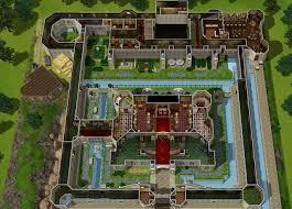 5 sims 3 castle floor plans mod the sims a medieval renaissance