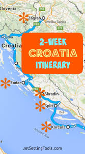 Road Trip Map 25 Best Croatia Map Ideas On Pinterest Map Of Croatia Croatia